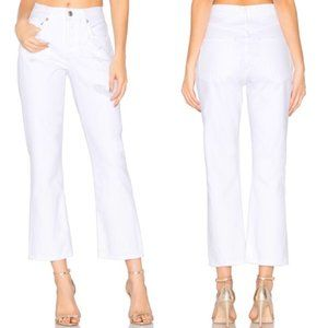 NWT Agolde Taylor High Rise Crop Kick Flare Jeans